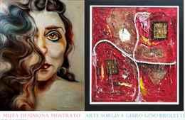 Muta di Simona Mostrato e Arte sorgiva di Gibro Gino Broletti